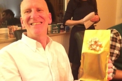 Steve wins the golden price